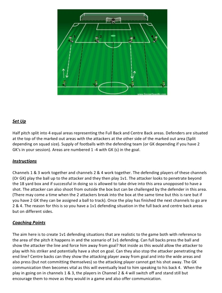 Guest Session by Willie McNab - Celtic FC Academy - Defending