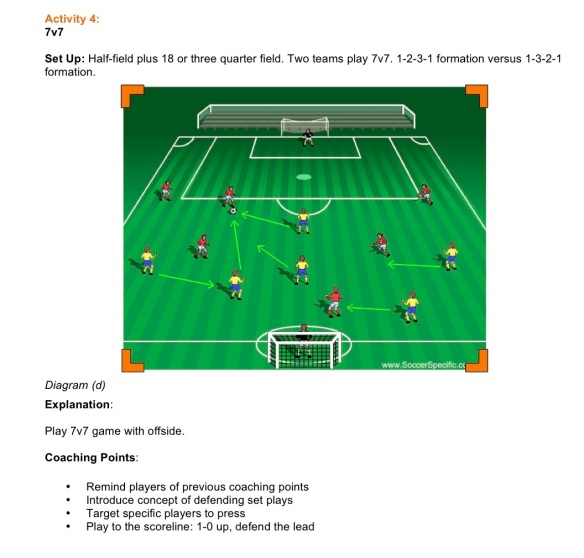 Pressing to Win Possession pt4