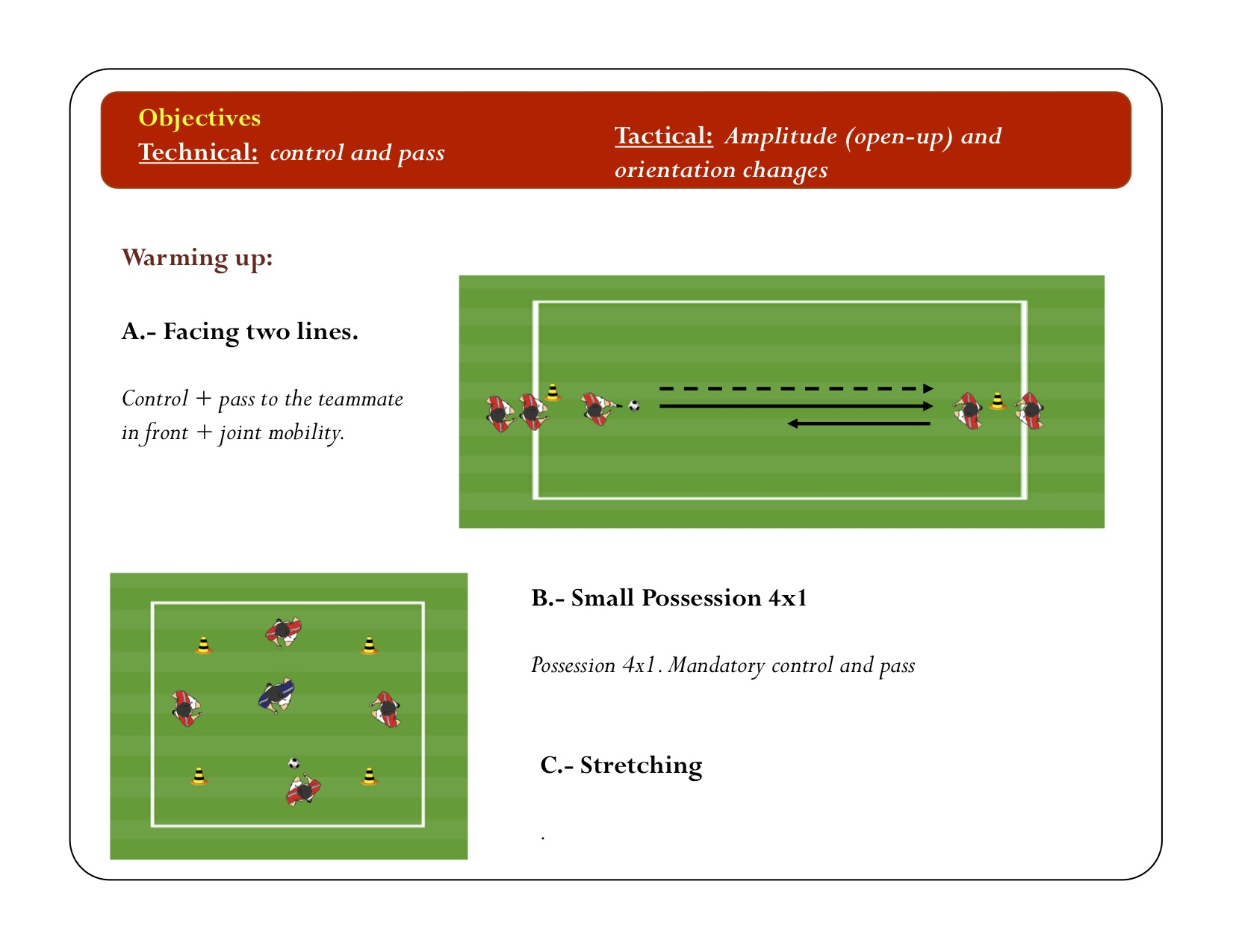 Possession Exercises | YOUTH TO PRO SOCCER