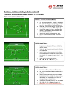 Gavin Levey (sample session) ? Developing Midfield Attacking Options