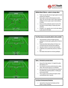 Gavin Levey (sample session)  Developing Midfield Attacking Options